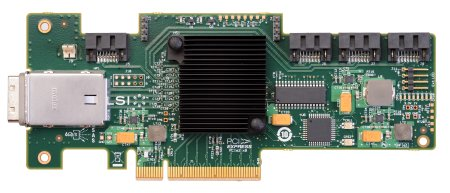 LSI SAS 9212-4i4E 2x 6Gbps connetor, PCI-E Host Bus Adapter