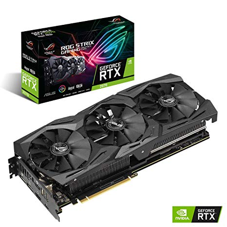 Card Màn Hình ASUS ROG Strix GeForce RTX 2070 SUPER Advanced edition 8GB GDDR6
