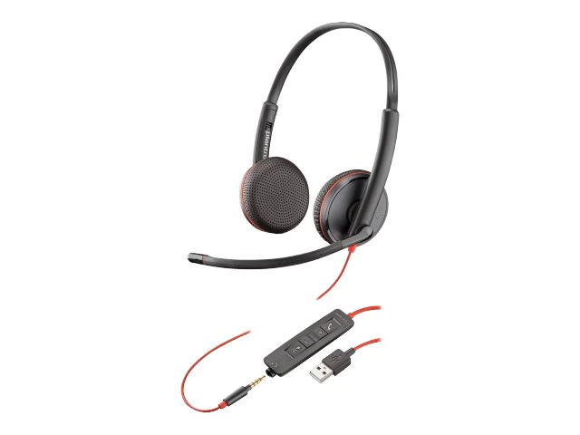 Tai Nghe Headset Plantronics C3225 USB-A 209747-101