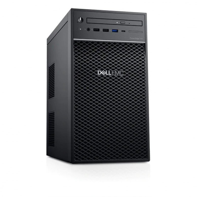 Workstation Dell T40 (2224G/8GB/1TB/P2200/DVDRW/Key+Mouse/Win10 Trial)