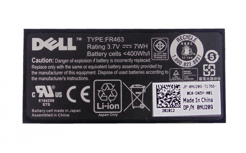 Dell NU209 Battery