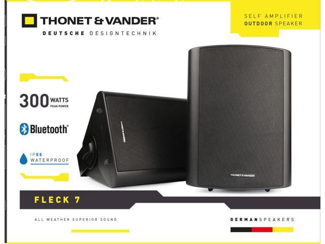 Loa Bluetooth Thonet and Vander Speaker Fleck 7 BLACK Outdoor