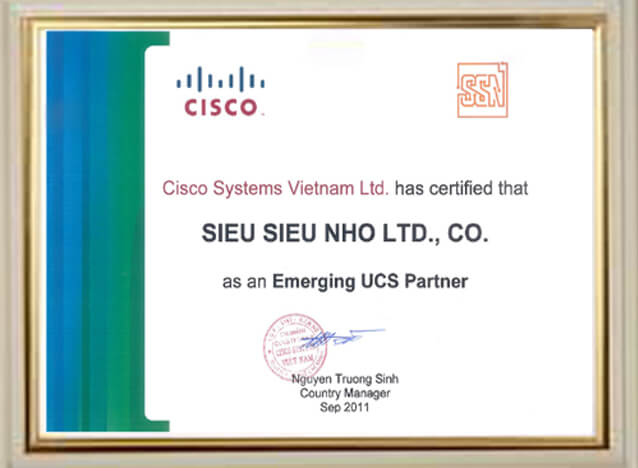 GCN As an Emerging UCS Partner