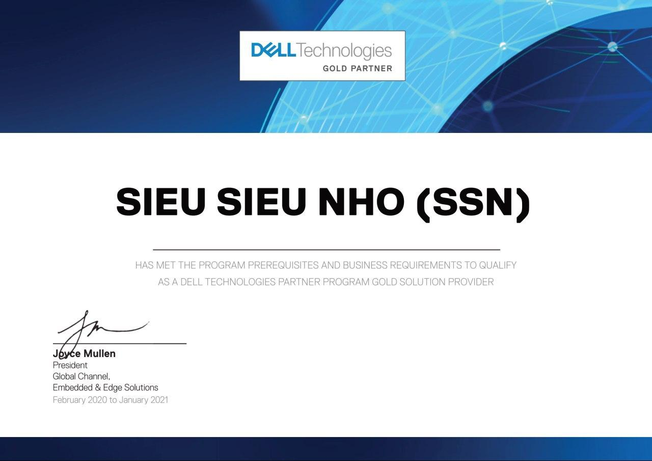 GCN DELL TECHNOLOGIES GOLD PARTNER